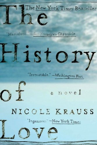 One of our recommended books is The History of Love by Nicole Krauss