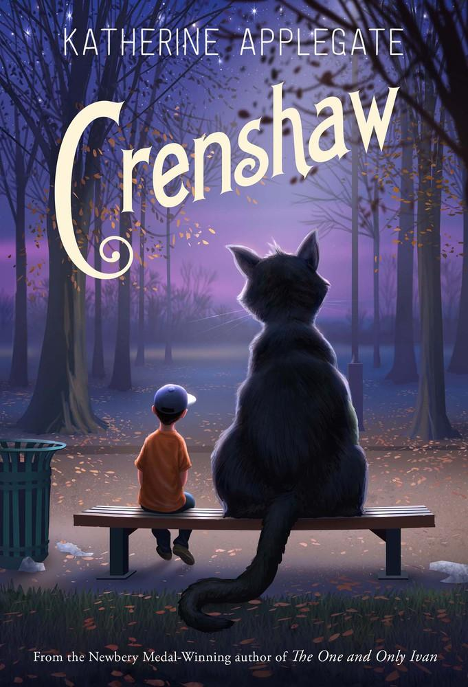 One of our recommended books is Crenshaw by Katherine Applegate